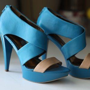 Teal blue High Heels